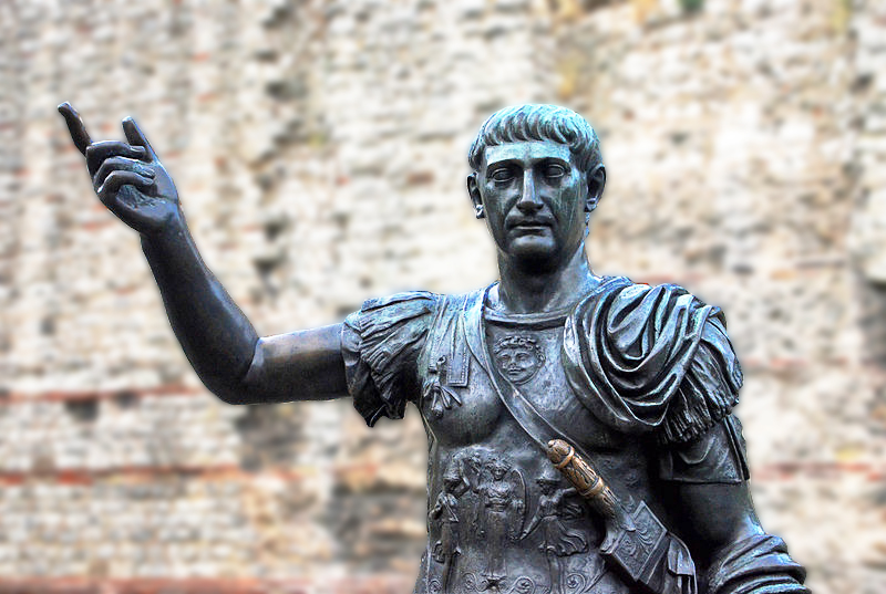 Emperor Trajan at Tower Hill 9548613224