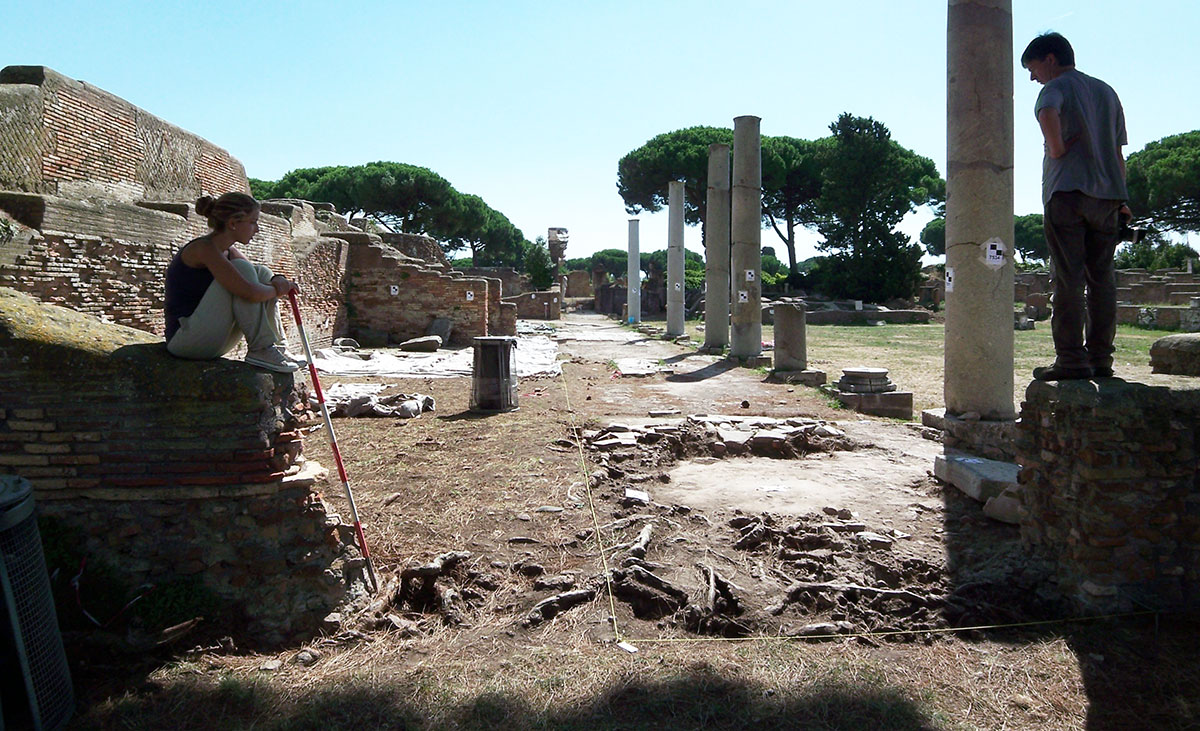 Photo 1: The Main Foro Portico On The South/east Side Of The Forum.