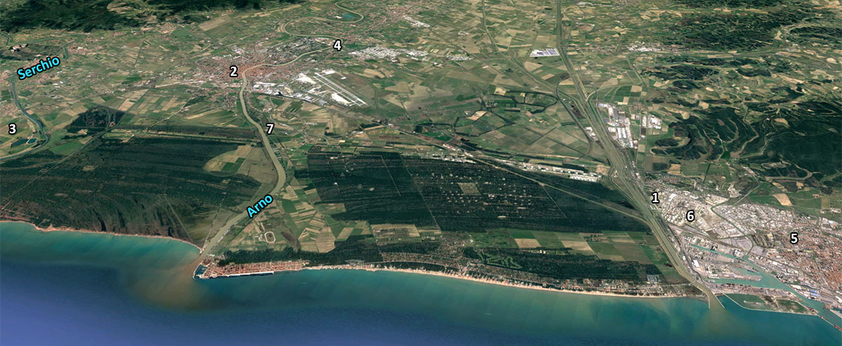 The lost harbour of Pisa | Roman ports