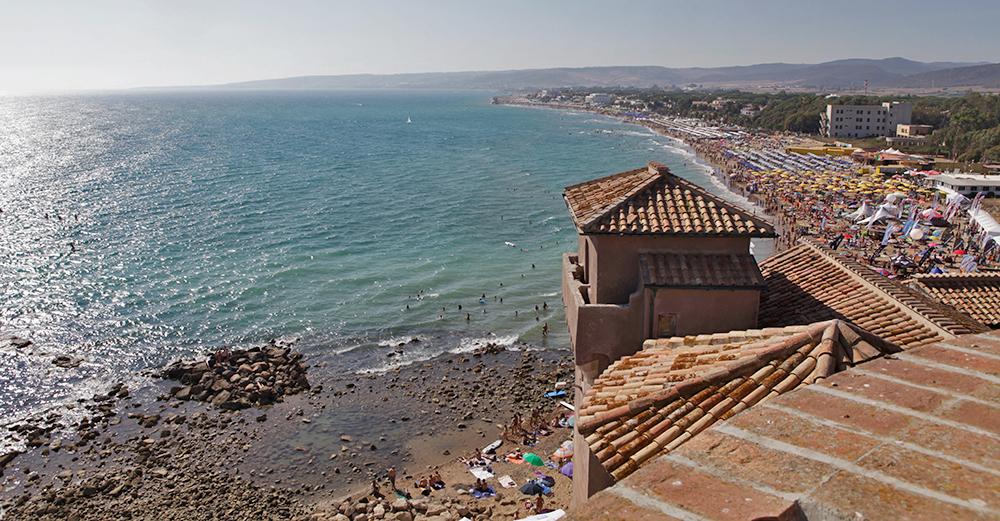 Santa Severa Een Stad Achter Een Badplaats Roman Ports
