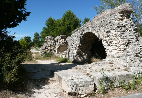 The Roman Mill at Barbegal
