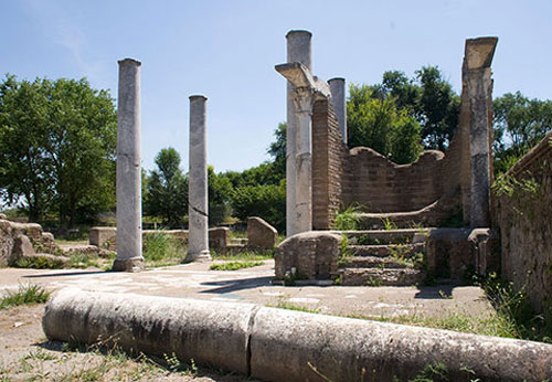 The synagogue, Jewish life in Ostia