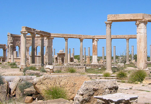 Leptis Magna, main gateway to Africa